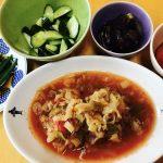 2日目 7日間脂肪燃焼スープダイエット  野菜とスープの日
